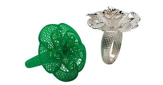 3D Printed Jewelry Casted Samples-1