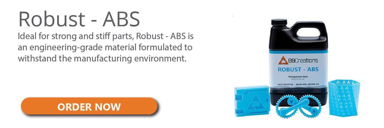 ABS 3D Printing Resin