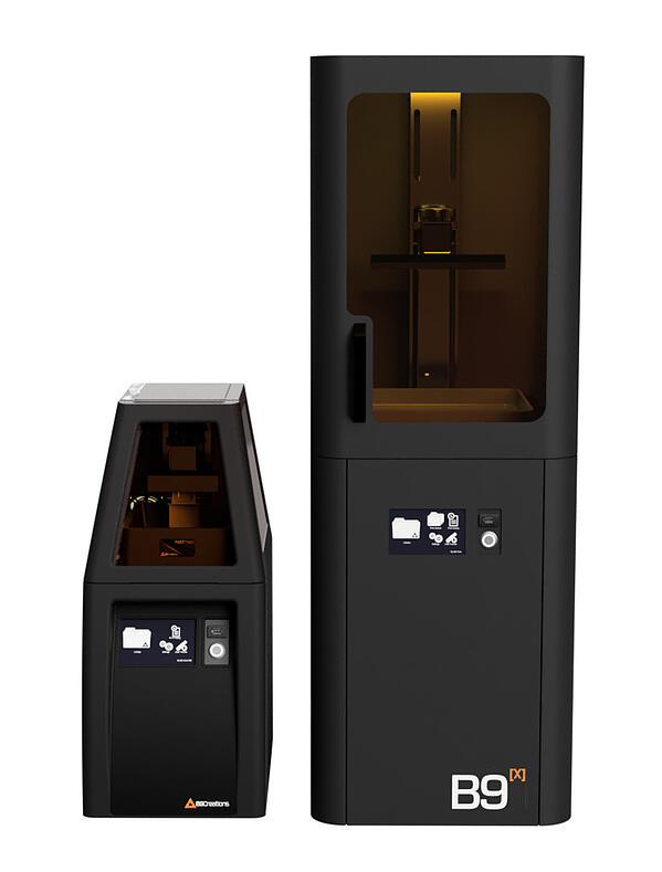 Core and B9x 3D Printers