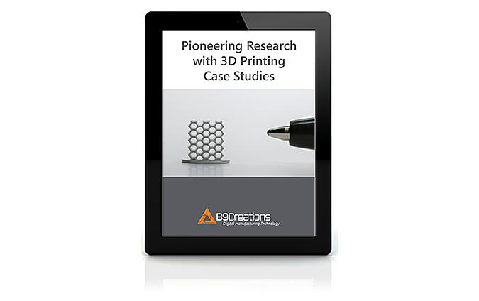 Pioneering Research with 3D Printing Case Studies