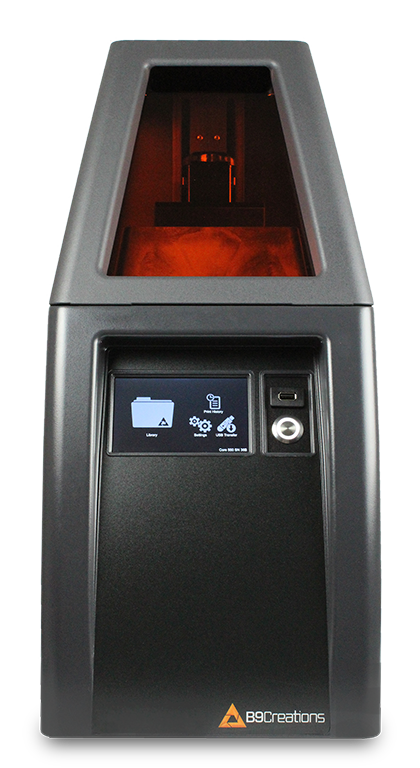 The B9 Core Series is the fastest high-resolution 3D printer at an affordable price.