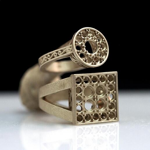 Casted Jewelry Industry 3D Print