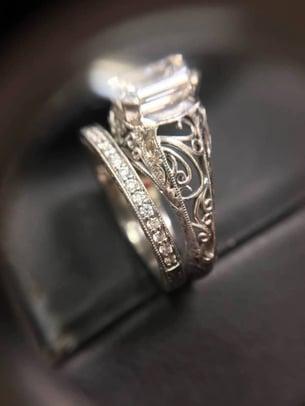3D printed fine jewelry