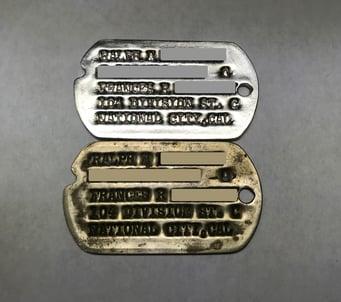 Dog tag replica