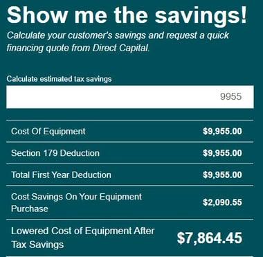 CIT Savings Calculator