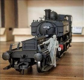 3d printed model making railway models