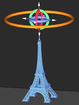 Bigger Eiffel Tower Model