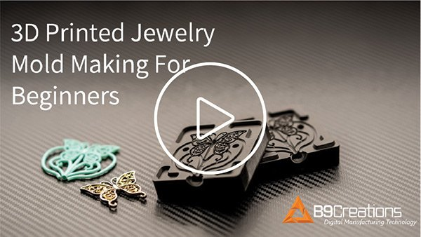 Webinar: 3D Printed Jewelry Mold Making for Beginners