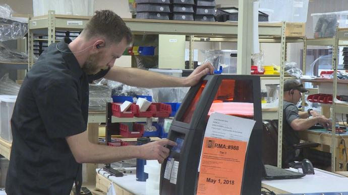Local 3-D printer creator and other small businesses highlighted during National Small Business Week