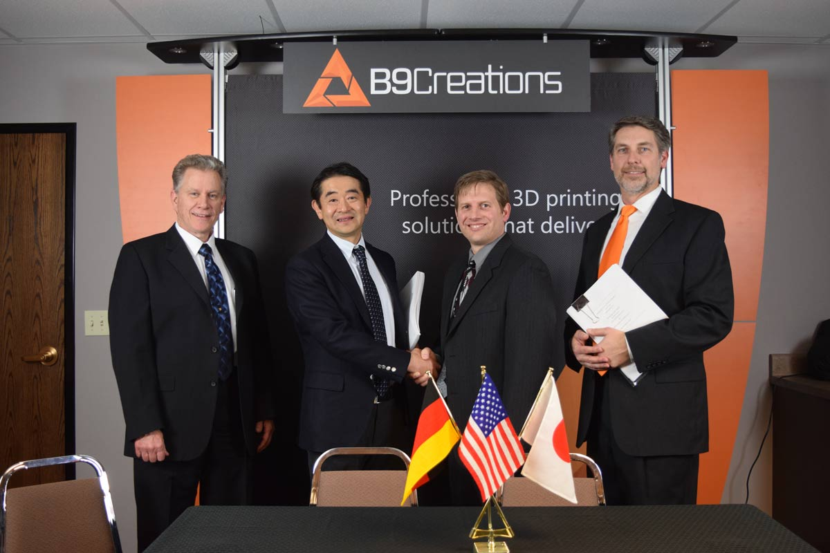 B9Creations Receives Minority Investment from Global Powerhouse Mitsui Chemicals