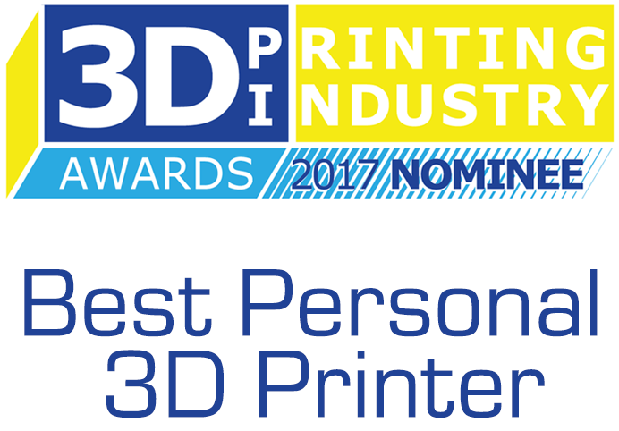 B9Creations Nominated for Best Personal 3D Printer of the Year