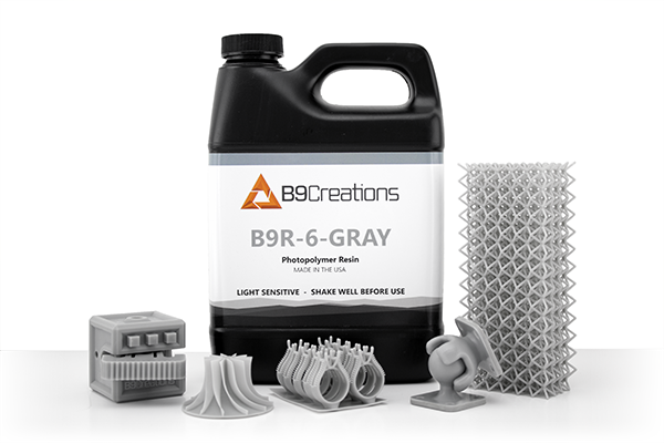 B9Creations Launches New Prototyping Resin Engineered to Shatter 3D Printing Speeds