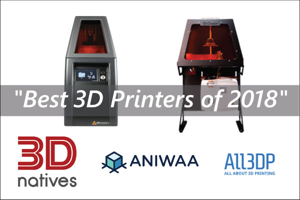 B9Creations 3D Printers Top the Lists of
