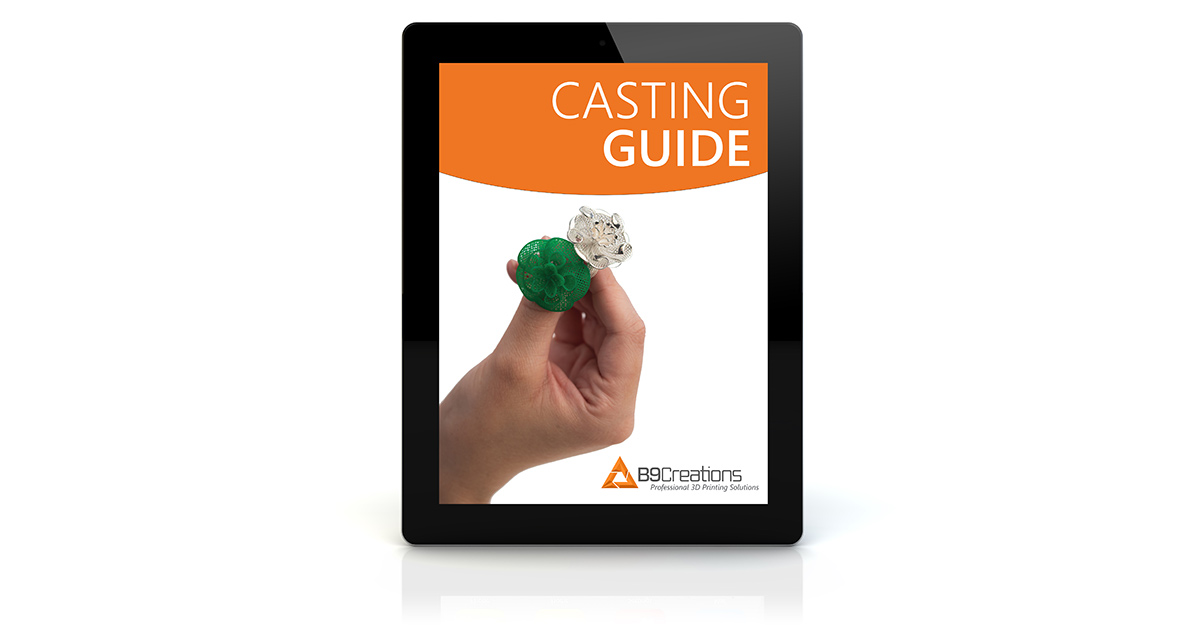 B9Creations Casting Guide for Jewelers