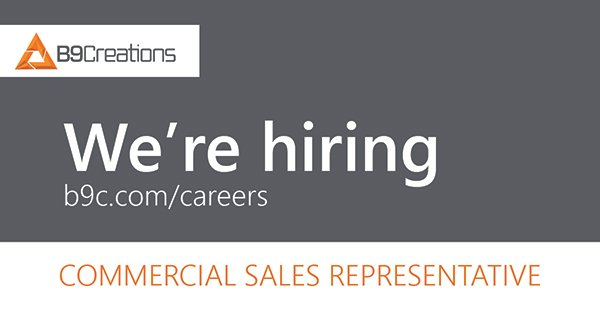 Commercial Sales Representative