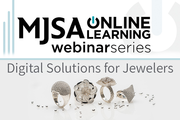 MJSA Webinar: B9Creations' Digital Solutions for Jewelers