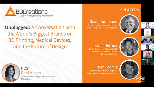 Webinar: A Conversation with the World's Biggest Medical Device Brands