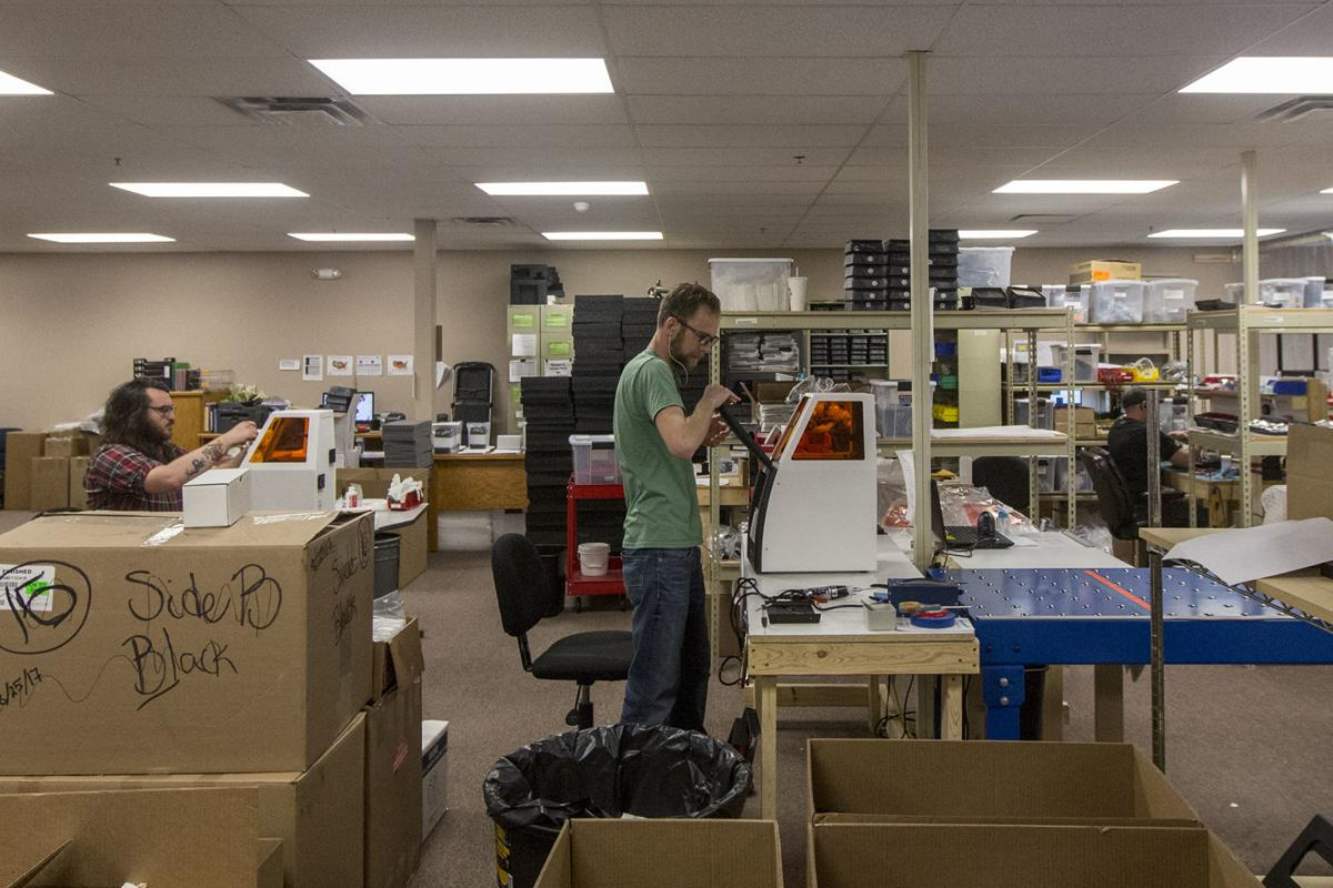 Talking Business: Former Ellsworth Pilot Starts 3-D Printing Company