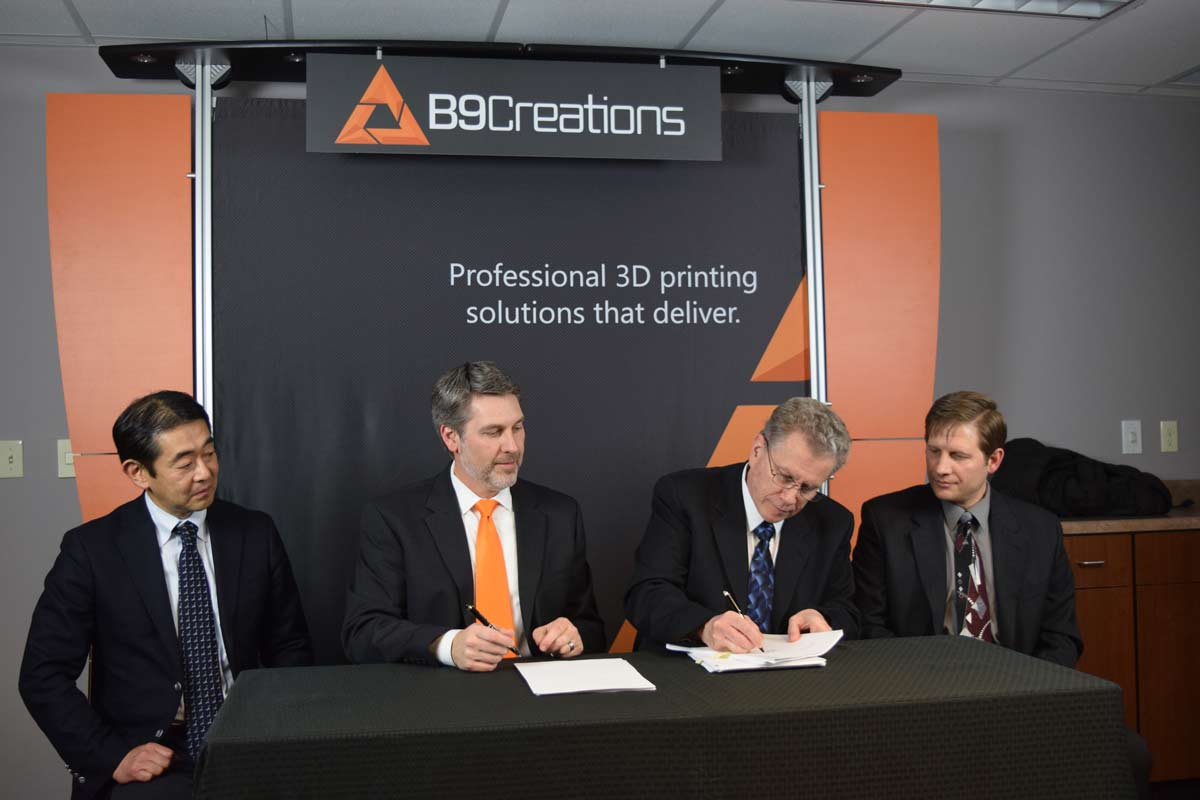 3D Printing Industry Recognizes Mitsui Chemicals' Investment in B9Creations