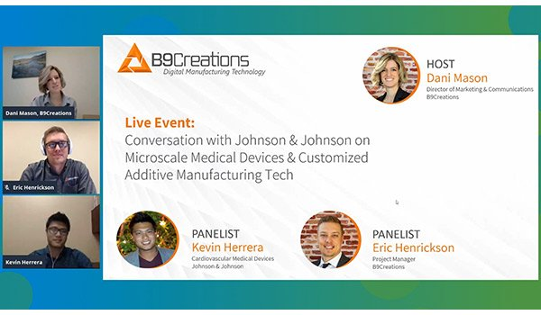 Webinar: Discussion on Microscale Medical 3D Printing & Customization